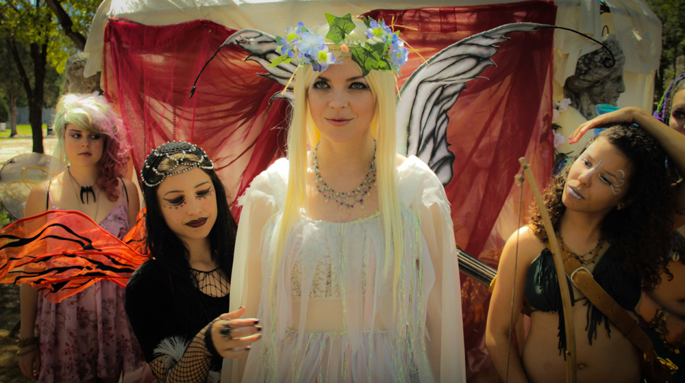 The Faeries (Ashlie Snyder, Moon May, DeRae D'Ann Logan, Crystal Hoetzel)