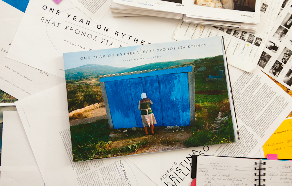 Monograph of One Year on Kythera in the works