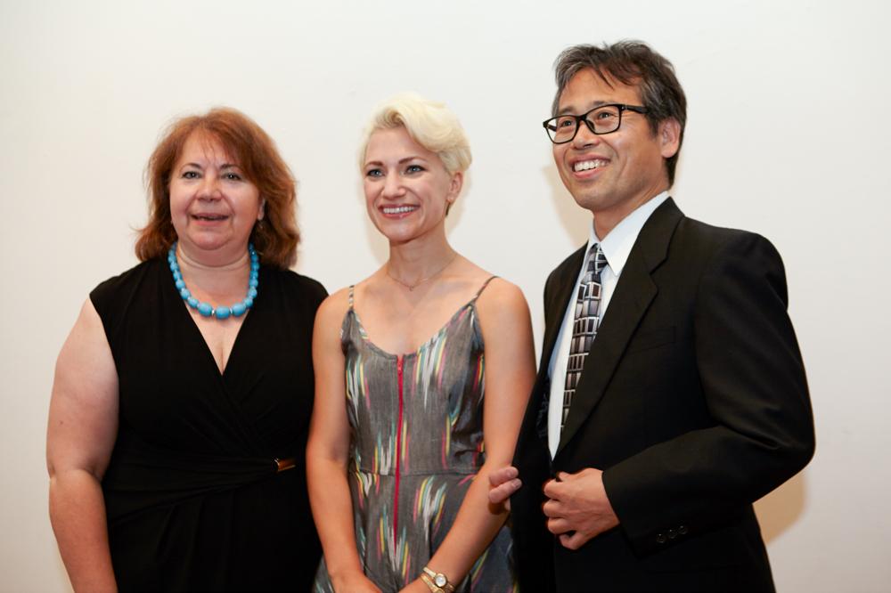 Dora Ziongas, Kristina Williamson, Yoichi Fukui