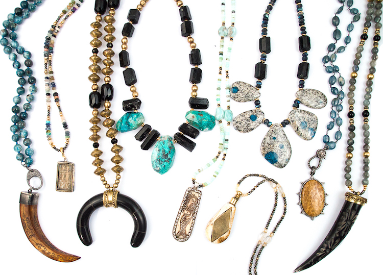 Miller Mae Designs Handmade Gemstone Necklaces