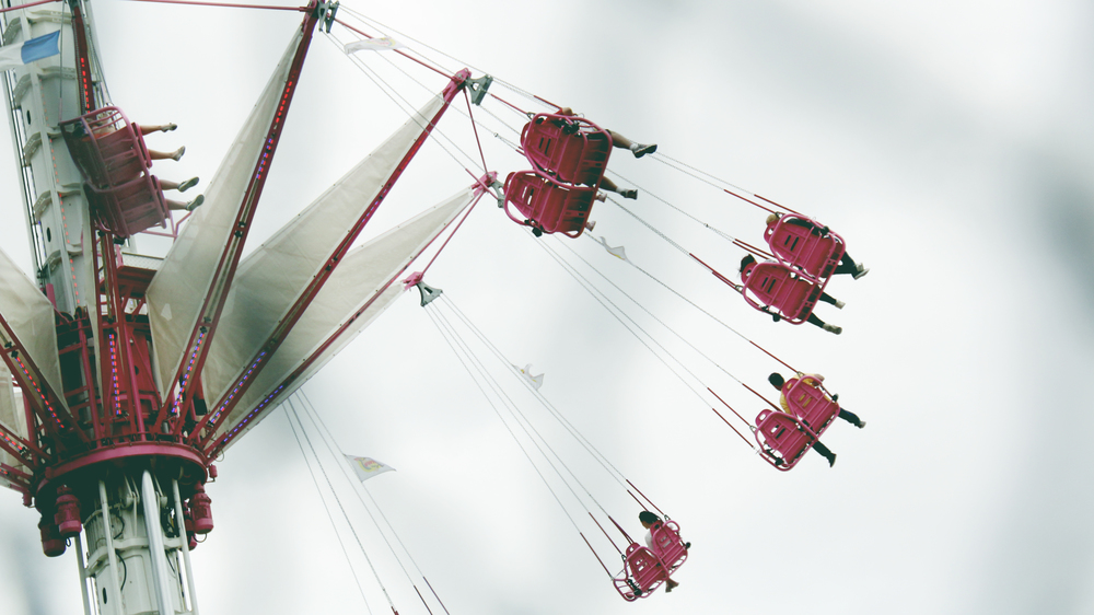 First sight of swings - Tuileries -