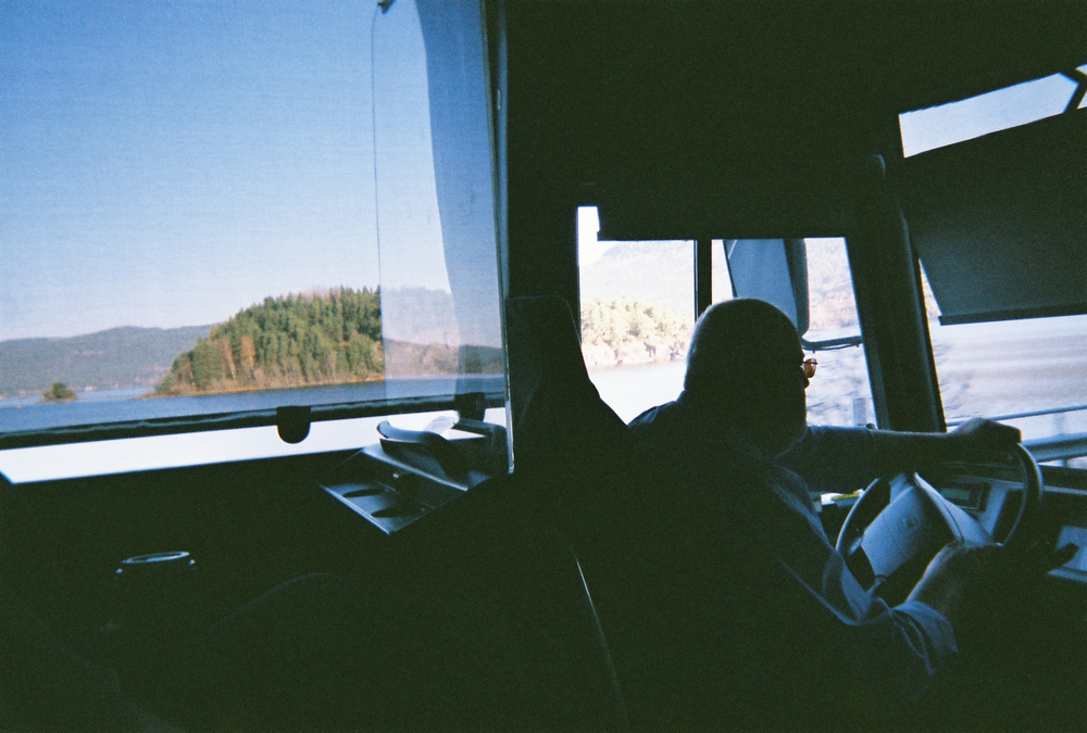 """En route to Oslo - The air, the water, the earth, the everything. I was reminded of the first time I was introduced to the word Fernweh, the most perfect German word I've ever heard - """"An ache for distance."""""""