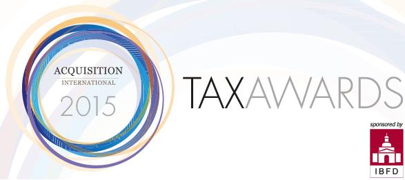 2015 tax award