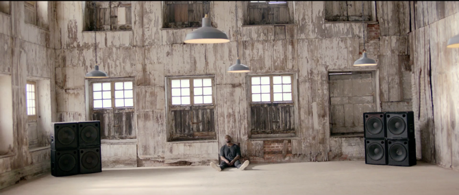 SET DESIGN WORK BY OUR COMPANY CLIENT, STUDIO RHODES, FOR KAYNE WEST MUSIC VIDEO