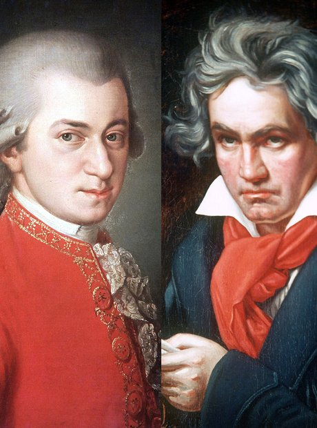 ludwig van beethoven and w a mozart Ludwig van beethoven (baptized 17 december 1770 in bonn – 26 march 1827 in vienna pronounced bay-toh-ven) was a german composer  there, he might have had one or two lessons from mozart, but then beethoven got a letter saying that his mother was dying, so he hurried back to bonn.