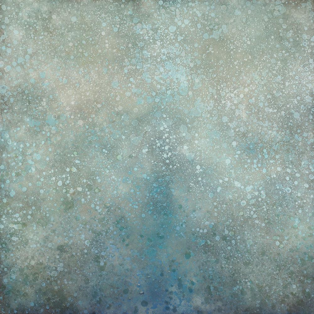 """Zerrasta, mixed media on canvas, 60 x 60"""""""