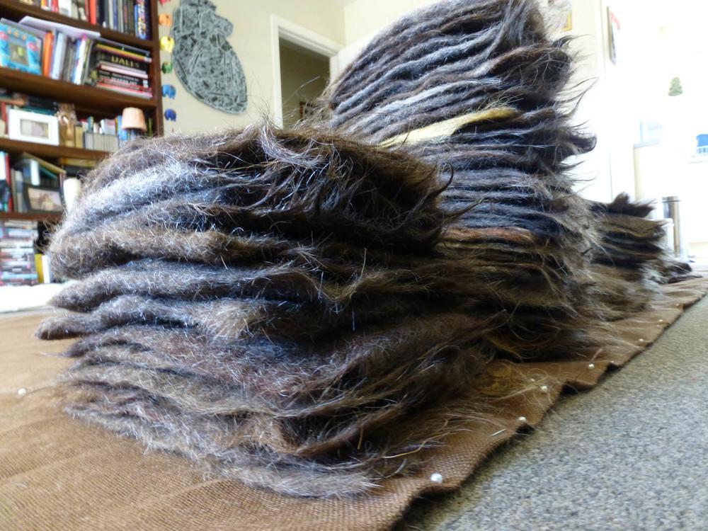 Lara Mumby-Croft. 2013. Hair felt: size order. (Human Hair)