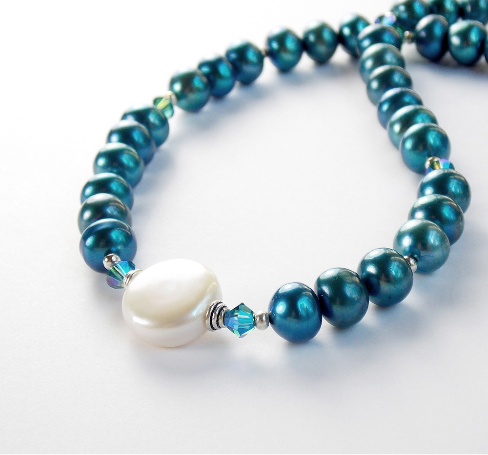 white coin with teal pearls 3rd.jpg