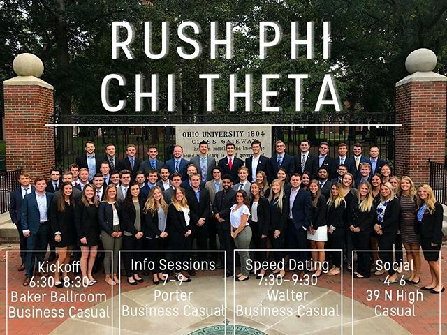 It's rush week! Come join us and @akpsiou tonight to find out what it means to be a member of one of our organizations!
