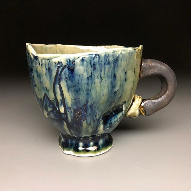 #mugshotmonday fresh from the 🔺10 reduction. #geilkilns #moreheadstateceramics