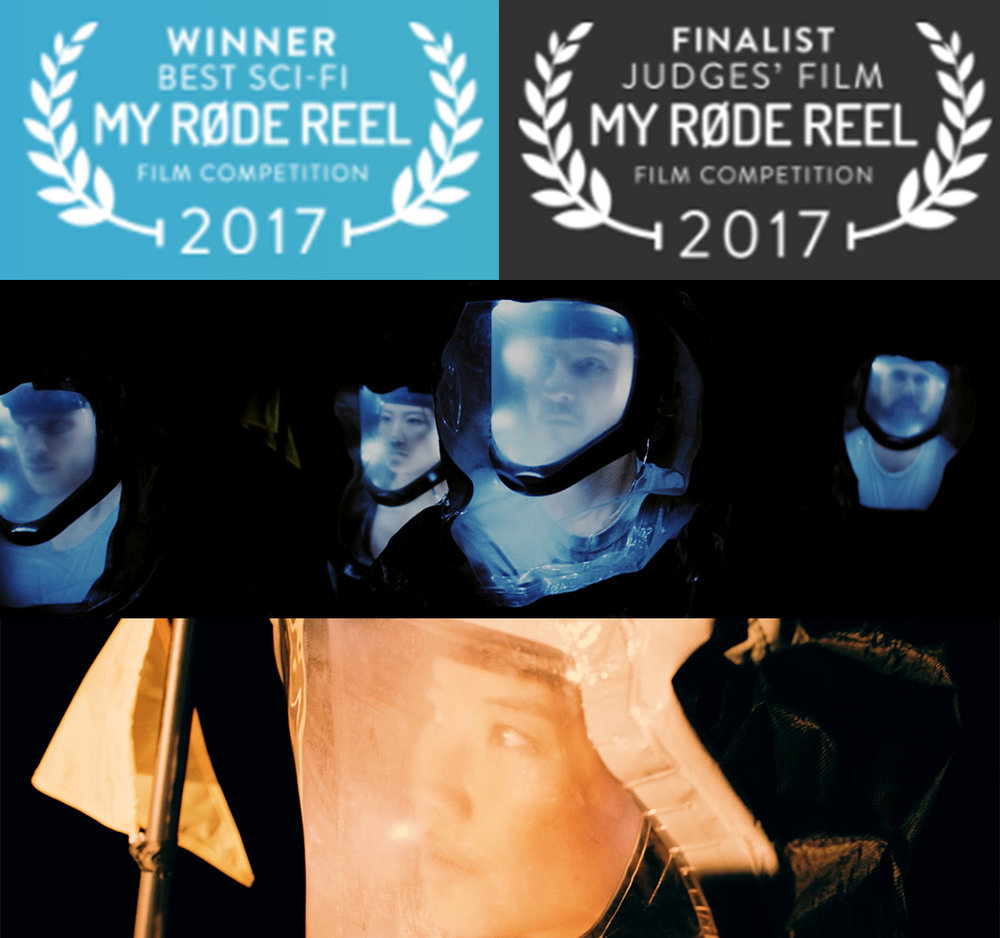 RODE REEL  - Excited to have won best Sci-Fi film and to be one the 12 finalists for the judge's film in this year's Rode Reel.