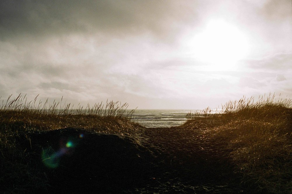 Icelandic Beach, 35mm Porta 400