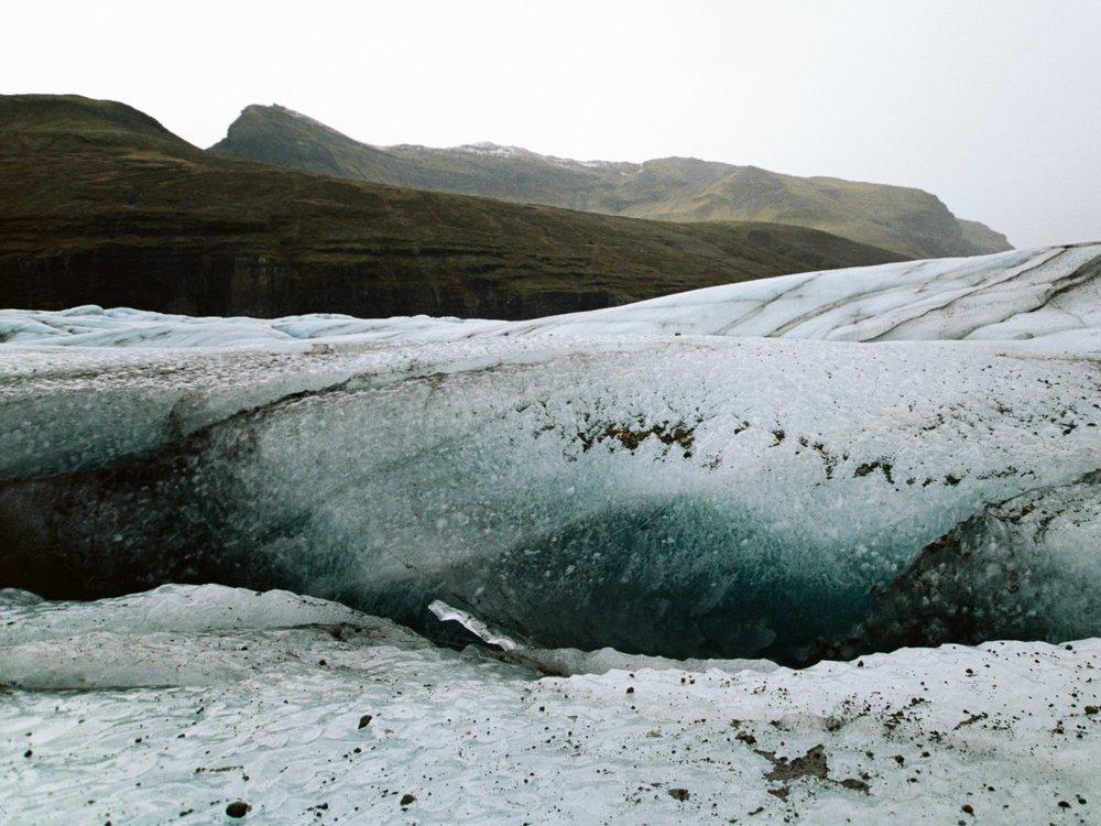 Svínafell Glacier, Iceland 35mm Portra 400