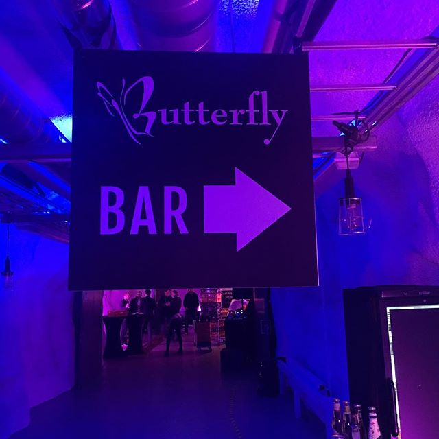 CAP A / Butterfly Ventures Getting setup at the Maria Experience try, prelude to Slush!
