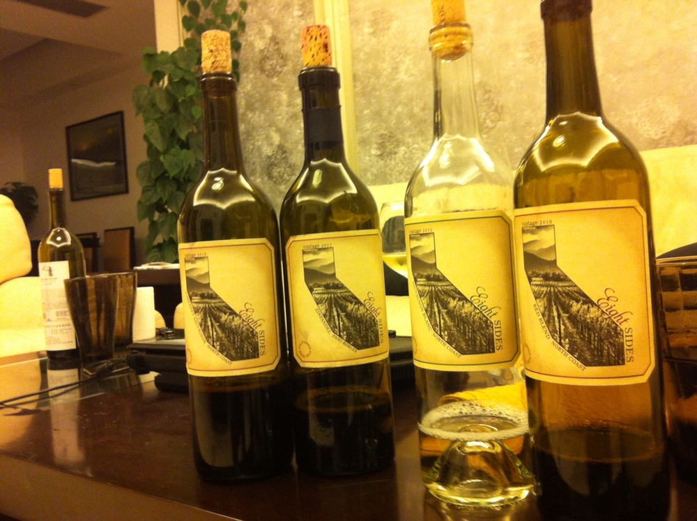 The Eight Sides collection -- after a tasting in Guangzhou