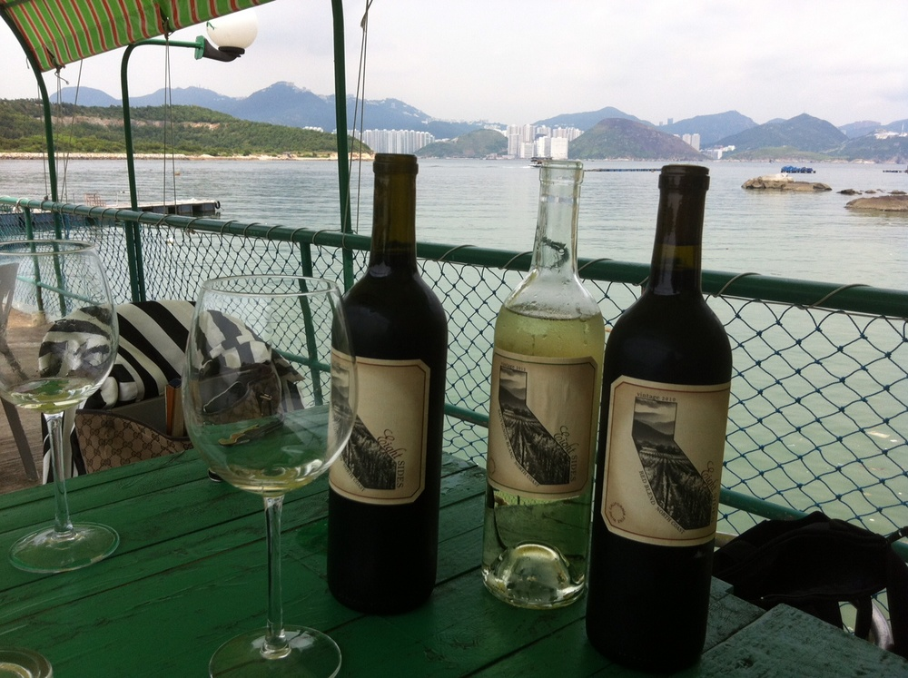 A photo from my first trip selling wine in Hong Kong.
