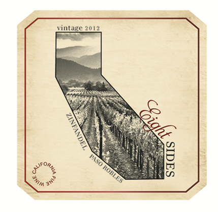 Eight Sides 2012 Zinfandel