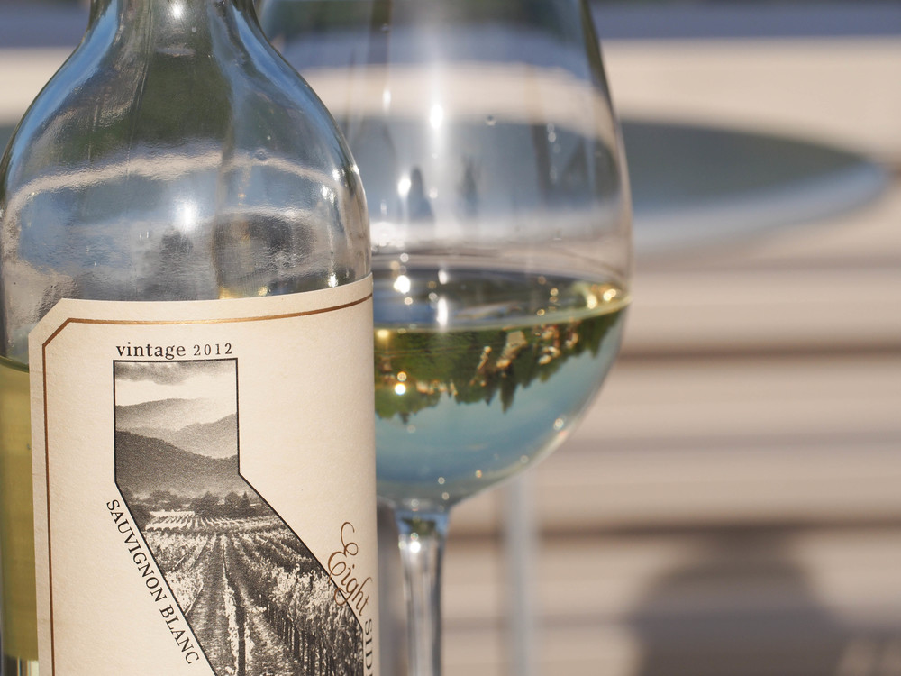 Eight Sides Sauv Blanc  - paired with sunshine and fresh air