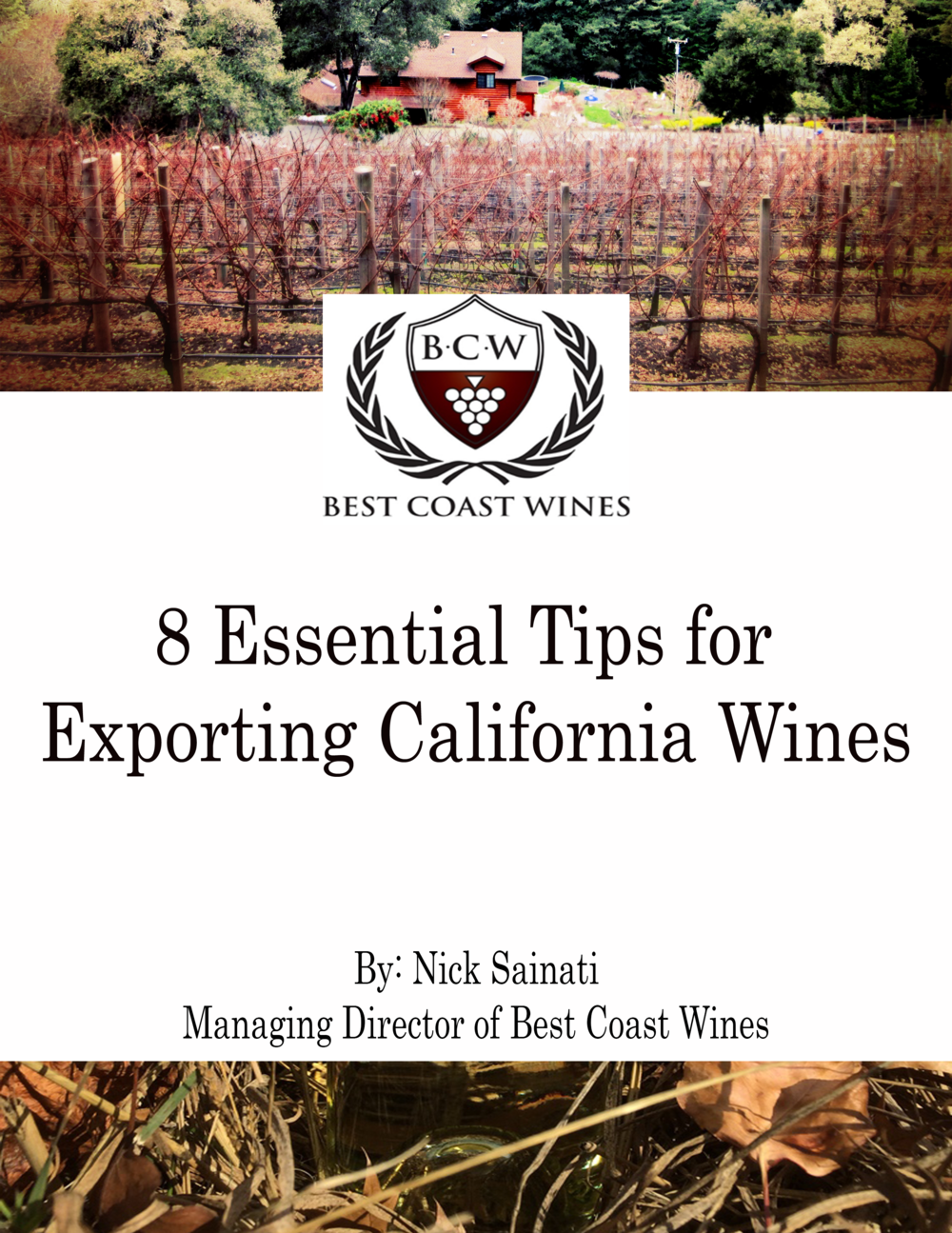 Best Coast Wines' free guide on how to export California and Wanshington wines. Download your copy!
