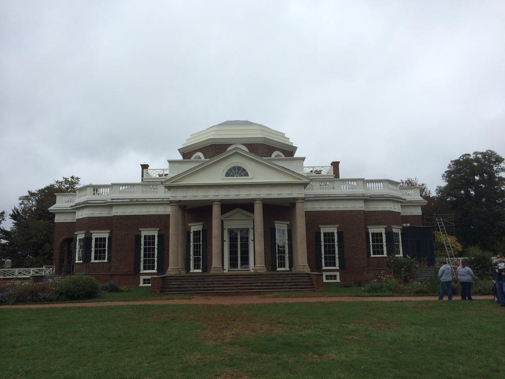 Monticello, lookin' historic.