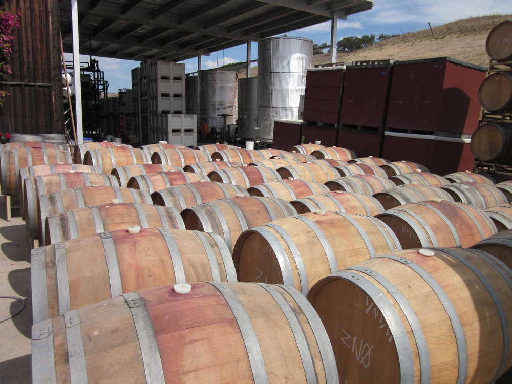 Wineries need LOTS of barrels to make certain styles of wine.
