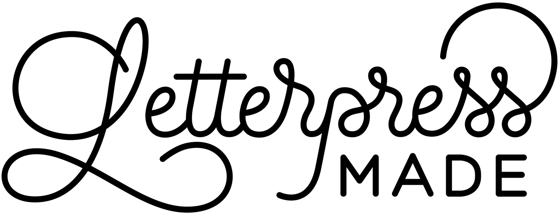 Letterpress Made | Custom Letterpress Wedding Invitations