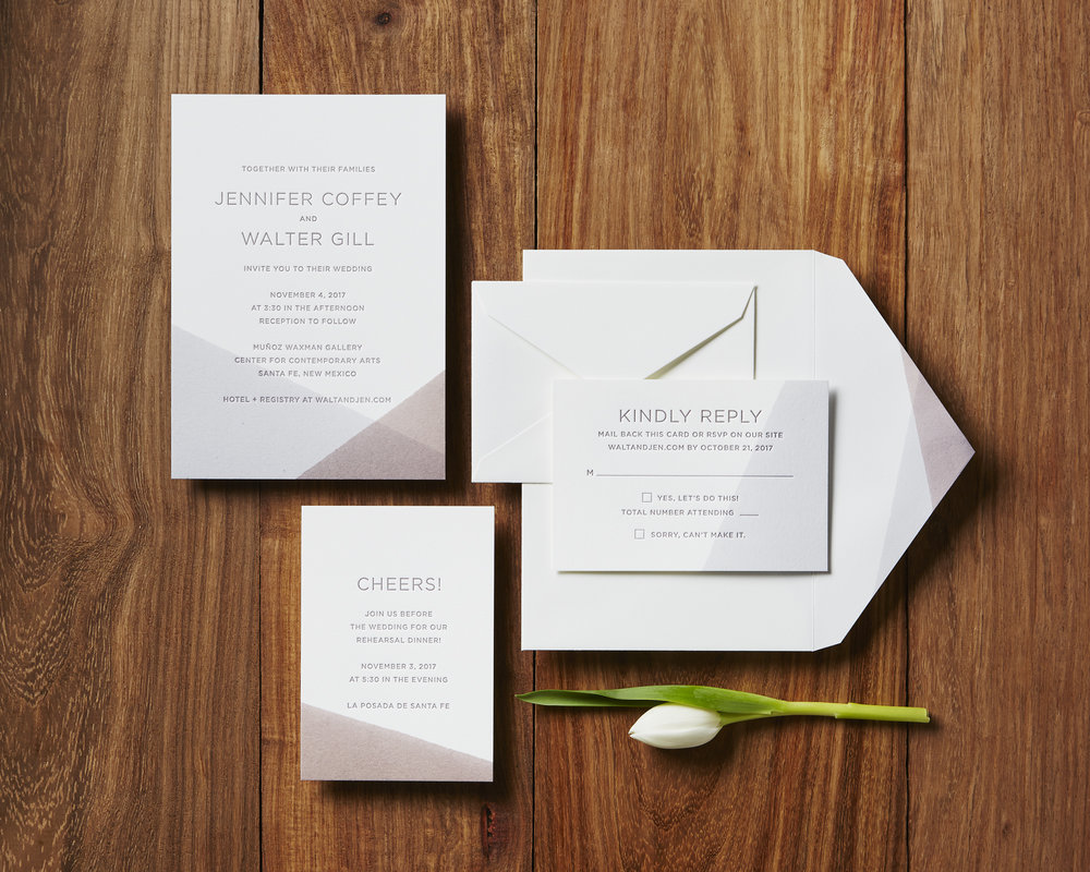 Letterpress Made | Custom Letterpress Wedding Invitations