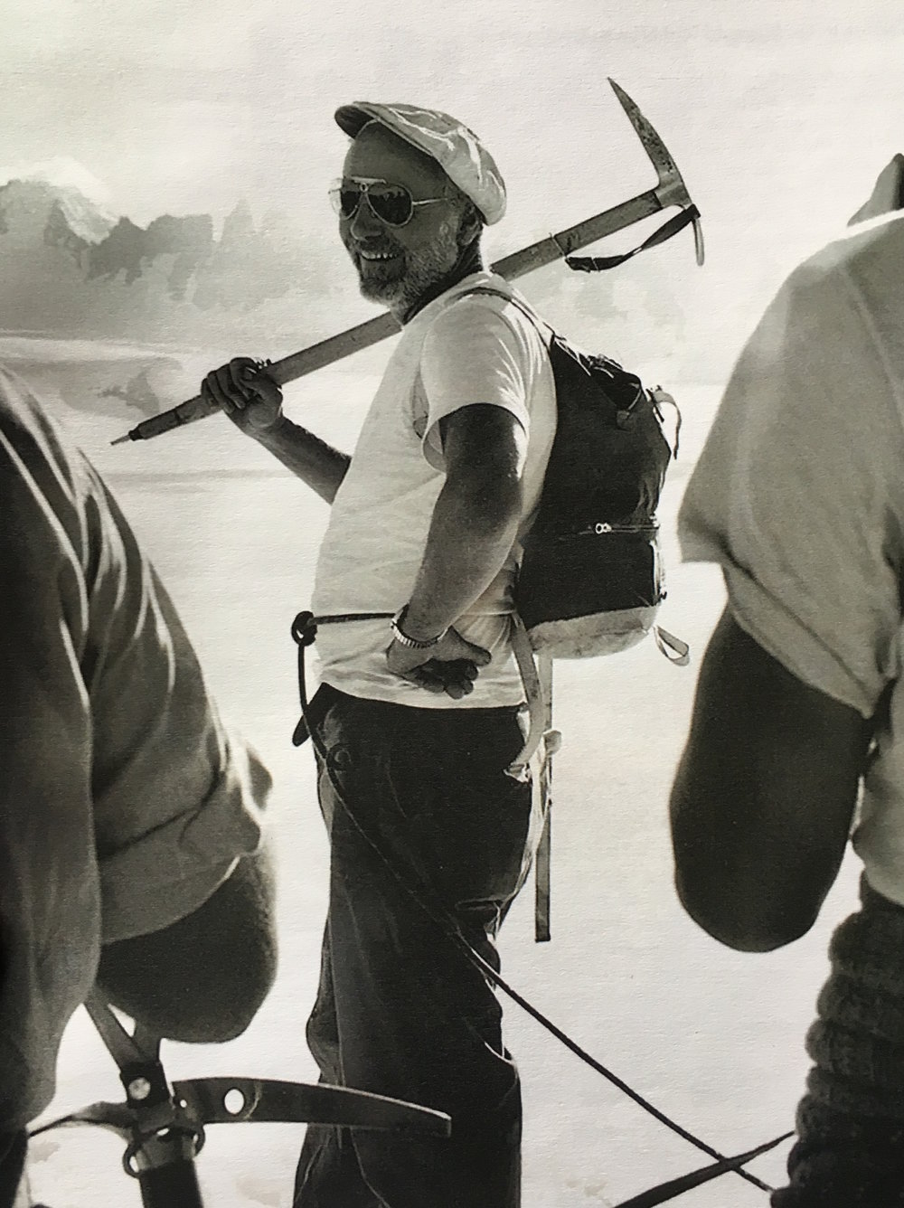 Maynard Miller, Taku Glacier, [year unknown]