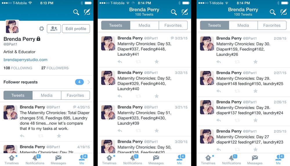 Twitter 'feed'