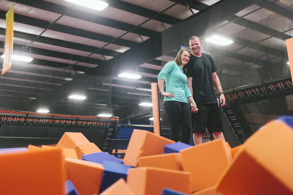 skyzone trampoline laugh engagement