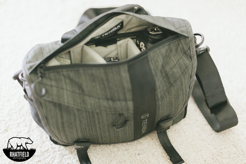 Camera bag Zipper