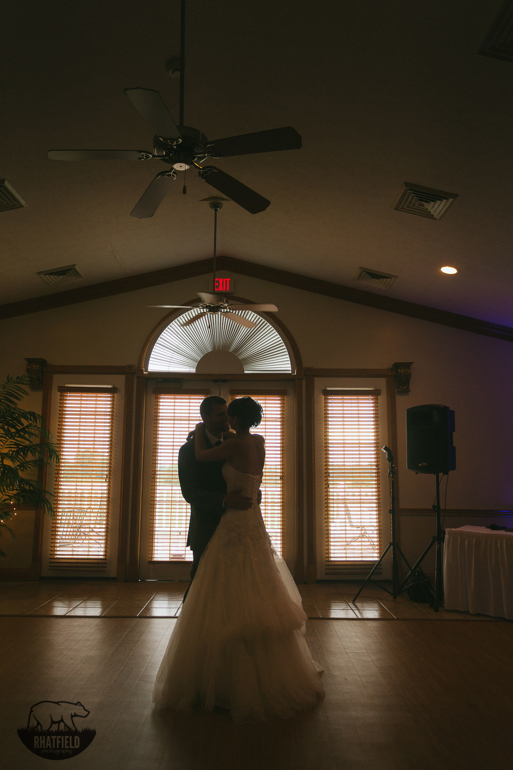 first-dance-silhouette-bay-window
