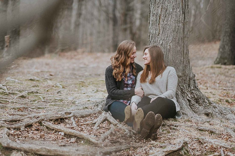 loving-look-at-each-other-engagement-photography