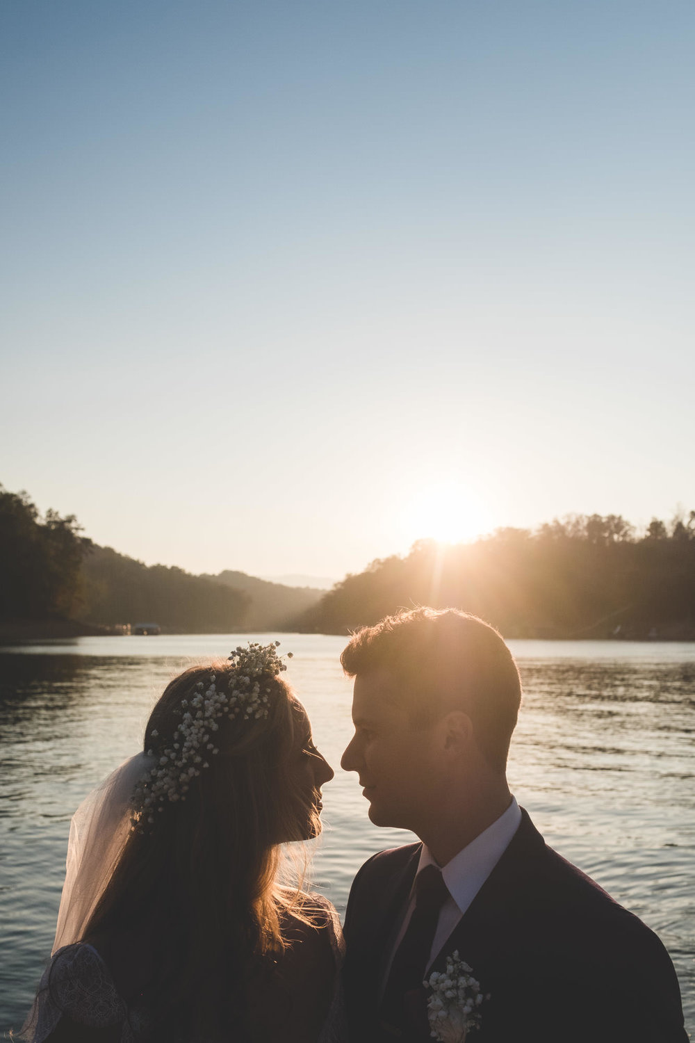 Christian & Molly's Norris Lake House Tennessee Wedding - www.RHatfieldPhotography.com