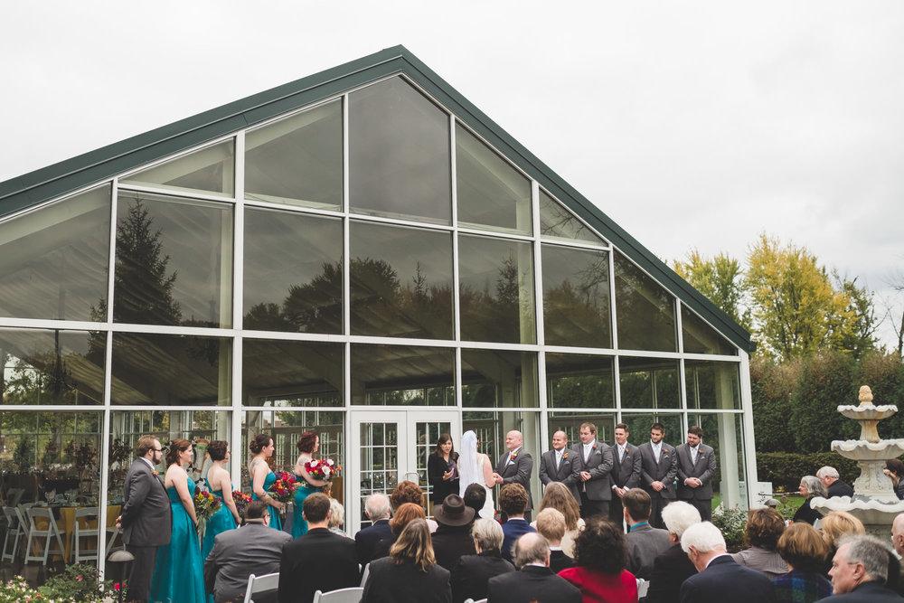 Keith & Alyse Ritz Charles Garden Pavilion Wedding Carmel IN - www.RHatfieldPhotography.com