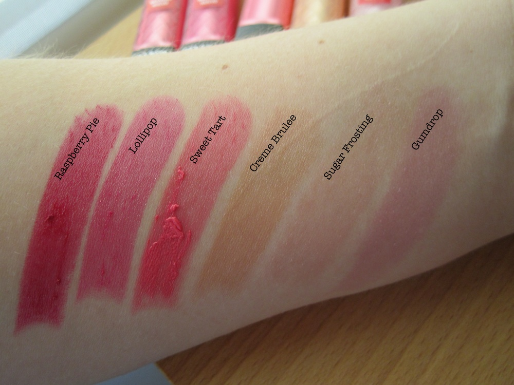 Swatches captured indoors