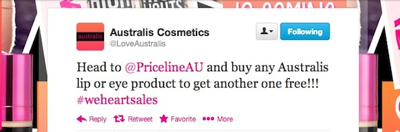 Australis Priceline Sale
