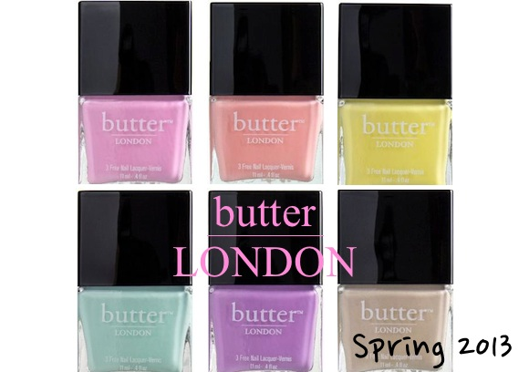 Butter London Spring 2013