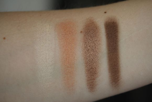 Copper Smoke swatches