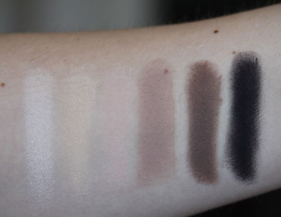 Naked Basics' swatches