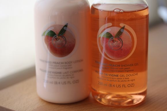 Vineyard Peach Body Lotion and Shower Gel