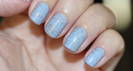 Butter London Fairy Cake atop Essie's Bikini So Teeny