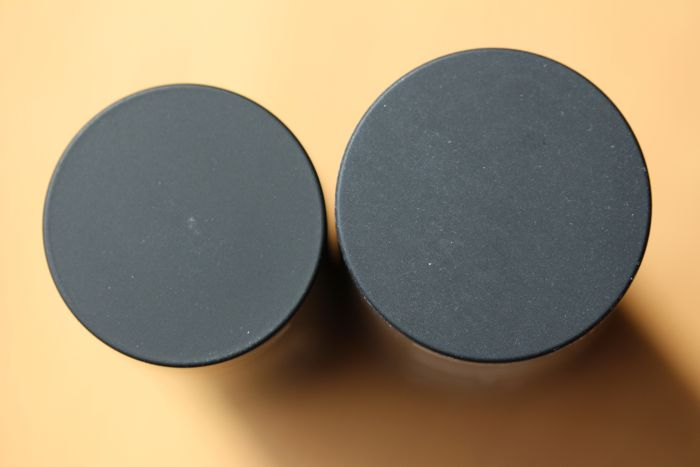 Matte Multiple (left) and The Multiple (right)
