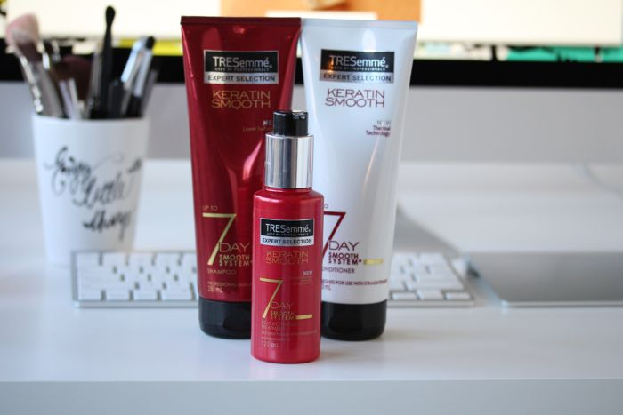 Tresemme's Keratin Smooth 7 Day Smooth System