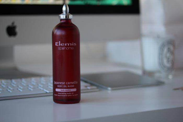 Elemis' Japanese Camelia Body Oil Blend