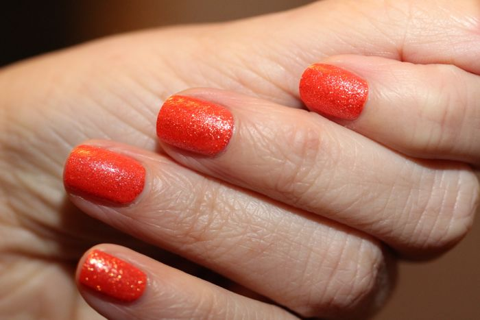 Illamasqua's Marquise over OPI's Where Did Suzi's Man-go?