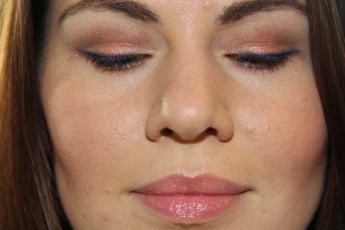 Wearing Tisse Vendome over NARS Smudge Proof Eyeshadow Base