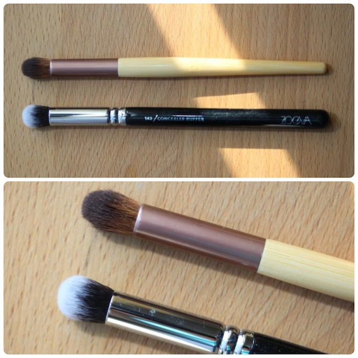 Concealer Buffer vs. EcoTools Airbrush Concealer