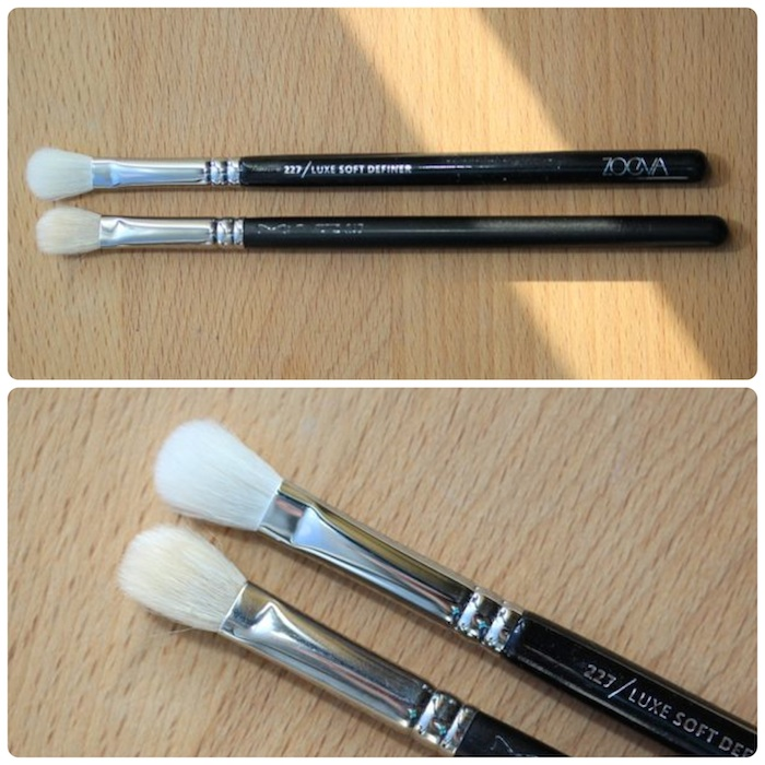 Luxe Soft Definer vs. MAC's 217