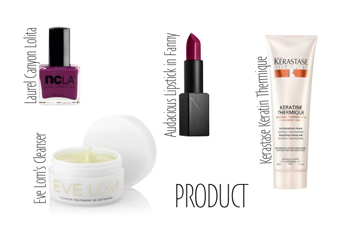 This week's beauty rotation